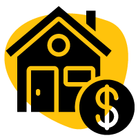 Yellow-Filled-Home-Money